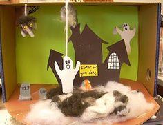 diorama - Halloween Diorama Ideas