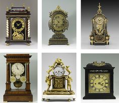 Typology of clocks. Frick collection of art. Precision and Splendor: Clocks and Watches at The Frick Collection is on display until February 2014.