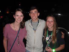 Mandy, Brian Rosenthal, and I!