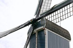 "Grote- Blauwe Molen Zoeterwoude Rijndijk, Zuid-Holland ""Grote Molen"" literally translates as ""The Big Mill"" - Possibly the inspiration for ""The Giant"" in The Winged Watchman by Hilda van Stockum?"