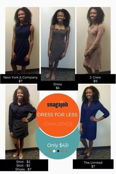 Find out how to spend less and dress for success!