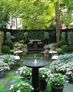 19.3.21 Land Wallpapers Small Courtyard Gardens, Small Courtyards, Small Gardens, Outdoor Gardens, Unique Gardens, Modern Gardens, Outdoor Plants, Backyard Garden Design, Backyard Landscaping