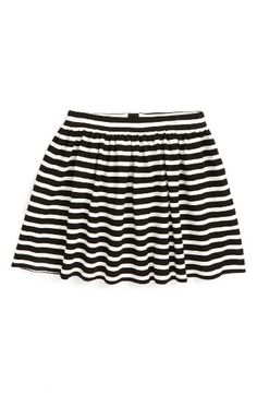 Free shipping and returns on kate spade new york coreen stripe skirt (Big Girls) at Nordstrom.com. Bold black-and-white stripes add classic charm to a preppy flared skirt.
