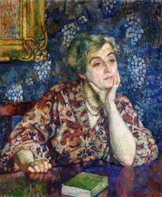 Maria van Rysselberghe in Jersey, 1907  Theo van Rysselberghe