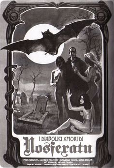 Count Dracula's Great Love - Cool vintage poster art
