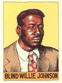 Blind Willie Johnson by R. Crumb