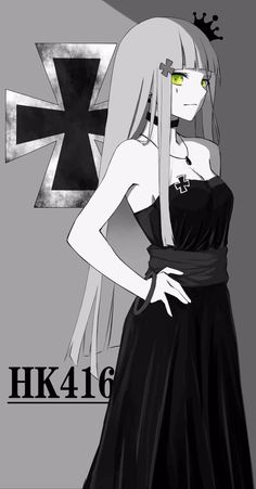 Guerra Anime, Mai Waifu, Anime Drawing Styles, Fan Anime, Military Girl, Girls Frontline, Games For Girls, Manga Girl, Character Illustration