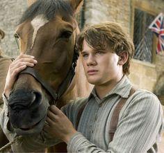 War Horse                                  Jeremy Irvine.