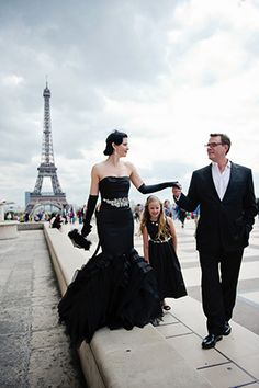 Vow renewal in Paris.  Brian and I have said we wanted to do vow renewals every 5 years intimately and maybe 10 and 25 a celebration. This would be a lovely intimate renewal idea!