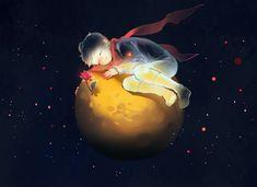 Little Prince, The audiobook by Antoine de Saint-Exupéry - Rakuten Kobo Melanie Delon, Prince Images, Portrait Lighting, Sad Art, The Little Prince, Creative Portraits, Anime Art Girl, Cute Wallpapers, Art Inspo