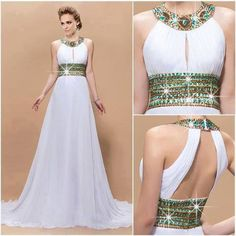 I love this elegant gown with gorgeous detailing!