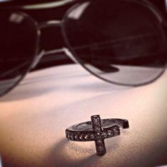 Ring Bling Tuesday- Now & Forever Ring in Hematite for $49