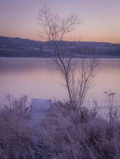 The sun is about to rise. Visterflo, Fredrikstad, Norway Copyright: Heidi Femmen
