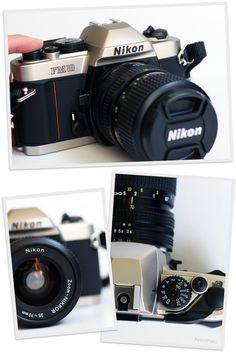 nikon fm10. [film] $200  Planning on buying this baby soon for summer studio art assignments!