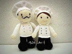 Crochet Pattern Chef Hat : 1000+ images about Kitchen - chef on Pinterest Chefs ...