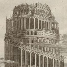Athanasius Kircher's Tower of Babel