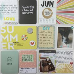 Mrs Crafty Adams: June Project Life  Studio Calico and 5th & Frolic