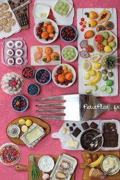 10 Days Until SIMP, Miniature Fair in Paris Miniature Food by Petitplat, Stephanie Kilgast