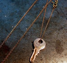 this rose gold is gorgeous.  The Gold Key by Black Sheep & Prodigal Sons