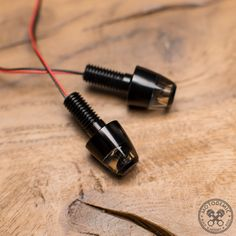 The motogadget m-Blaze Pin are extremely small and super bright turn signals. Options: Pre-Wired - Inline micro connectors to pass through nut and conne Cafe Racer Parts, Ducati Cafe Racer, Bike Accessories, Pairs, Vw, Motorcycles, Tattoos, Motorbikes, Tatuajes