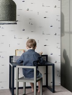 Love this new line of Kids furniture by Ferm Living- such great muted colors. Childish Tales: Ferm Living SS17 Collection - Petit & Small