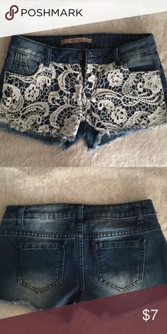 Highway shorts! Like new highway shorts size 0 Highway Jeans Shorts Jean Shorts