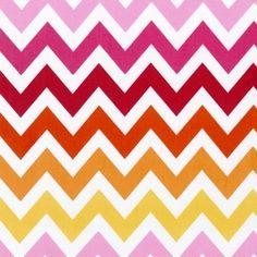 Ann Kelle - Remix - Large Zig Zag Stripe in Garden