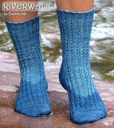 Nikki's Studio - NS073 - Riverwalk Socks