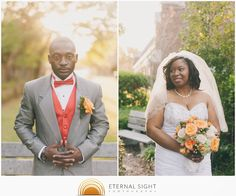 Sunkissed portraits of bride and groom Eternal Sight Photography: Jostanley + Courtney's Wedding Highlights   St. Paul Lutheran Church- Seminole Heights   Tampa, FL   March 14th, 2015