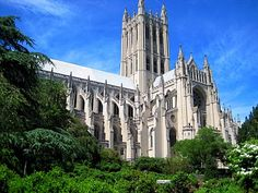 National Cathedral in Washington, DC - my mom started taking us here when we were little kids, making this one of my all-time favorite places in the world! from architectdesign.blogspot.com