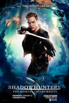 Poster Série Saga Shadowhunters