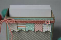 Zettelbox/Sale-A-Bration, Bild 2,  gebastelt mit Produkten von Stampin' Up