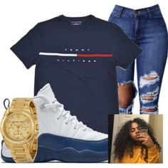 See more ideas about Design and style outfits, Swag clothes and Ladies style. Swag Outfits For Girls, Cute Outfits For School, Teen Girl Outfits, Cute Swag Outfits, Dope Outfits, Teen Fashion Outfits, Simple Outfits, Cute Fashion, Trendy Outfits