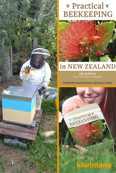 Practical Beekeeping in New Zealand is a great book and is one of essential beekeeping books for beekeeping of all levels. via kiwimana beekeeping sup