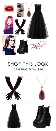 """""""Belle - Christmas Ball."""" by skyexxxx ❤ liked on Polyvore featuring Rina Limor"""