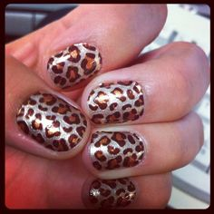 My own nails Sally Hansen nail strips ;)