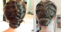 Two really quick updos!