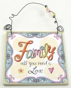 Family Wall Hanging  Price : $8.48 http://mjs-home-fashions.hostedbywebstore.com/Family-Wall-Hanging/dp/B005HGK8H2