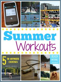 Need fresh ideas for summer workouts? We've got 17 of them! #fitness #exercise #challenge #healthy