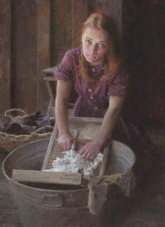 Laundry Duty- © 2004 Morgan Weistling