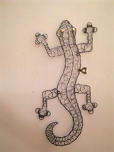 Metal Lizard Wall Decor If Walls Could Talk