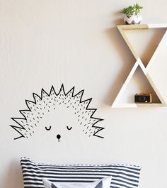 """18"""" x 18"""" Fully removable and reusable wall decals that will brighten and add character to any room. **PLEASE NOTE THAT METALLIC VINYL IS NOT REUSABLE and if the metallic colors are chosen the HELLO w"""