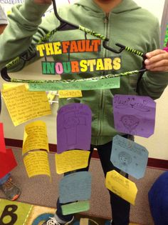 A spin on the traditional book report: Book Report Hanger Project