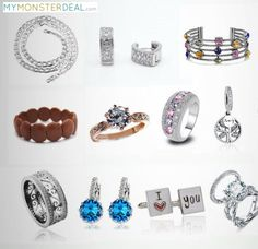 Quality Wholesale Jewelry at up to 80% OFF!  Fashionable and Trendy Earrings, Pendants, Rings, Chains, and Bracelets.