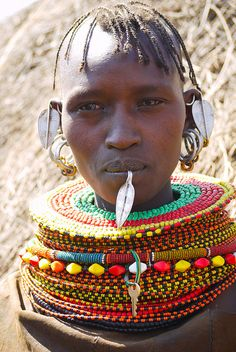 Turkana people by Rita Willaert, via Flickr