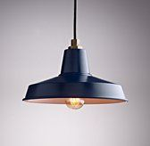 Barn Medium & Large Pendant Navy | Chandeliers & Pendants | Restoration Hardware Baby & Child