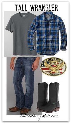Mens Tall Wrangler Outfit