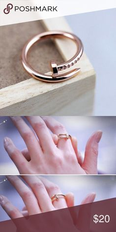 Gold nail ring Gold wrap around ring. Inspired by Cartier. Trendy, chic statement piece. 2 available 😍 brand new! NOT ZARA. Make me offers! Zara Jewelry Rings
