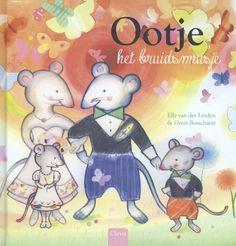 Ootje het bruidsmuisje; Auteur Elly van der Linden; Illustrator Greet Bosschaert. Het muisje Ootje mag samen met Aafje bruidsmuisje zijn op de bruiloft van Bastiaan en Flore. Het wordt spannend voor Ootje als de ringen wegrollen. Een prentenboek dat leuk is om kinderen voor te lezen als ze een bruiloft mee gaan maken. Voor 3 - 6 jaar. 2014