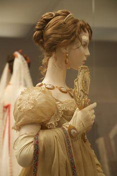 Silk Gauze dress, side view; c.1806-1809